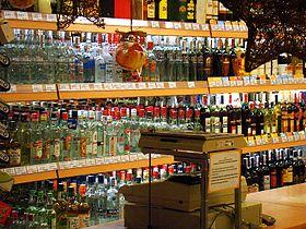 variedad de licores nacionales e importados vinos
